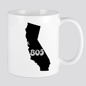 CALIFORNIA 805 [3 black/gray] Mugs